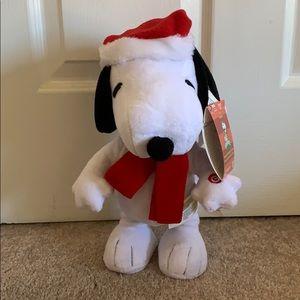 """Animated Musical 12"""" Dancing Snoopy Christmas"""